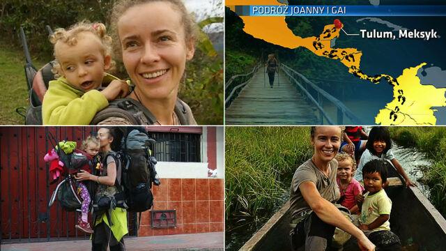 Joanna Nowak podróżuje po świecie z 3-letnią córką