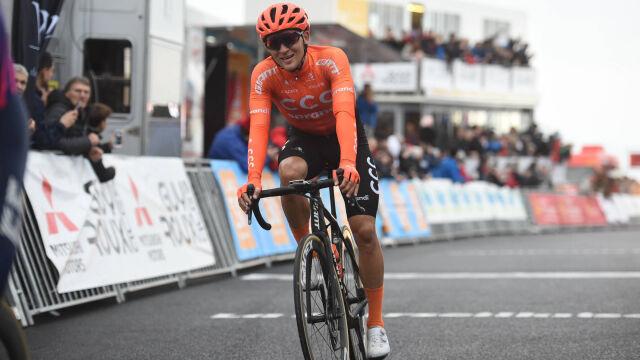 Kolejne podium CCC w wyścigu Etoile de Besseges. Tym razem błysnął Kamil Małecki