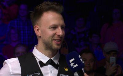 Judd Trump po triumfie w German Masters