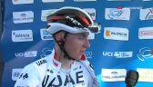 Pogacar po wygraniu 2. etapu Volta a la Comunitat Valenciana