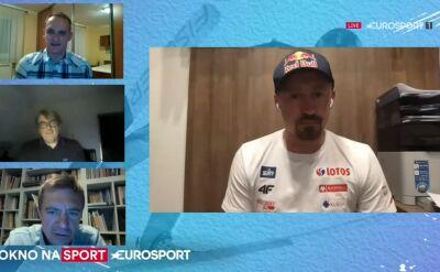 Adam Małysz o relacjach z zawodnikami z kadry narodowej