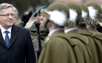 Komorowski zapowiedział m.in. wymianę sprzętu w 21. Brygadzie Strzelców Podhalańskich