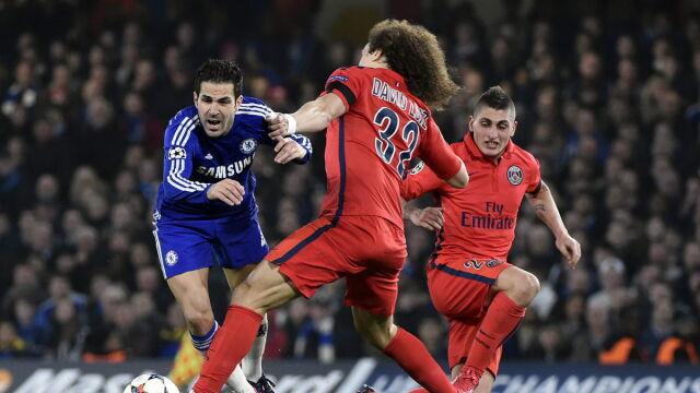 Nawet sędzia Chelsea nie pomógł. PSG upokorzyło Mourinho w dziesięciu