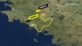 Trasa 3. etapu Tour de France 2021
