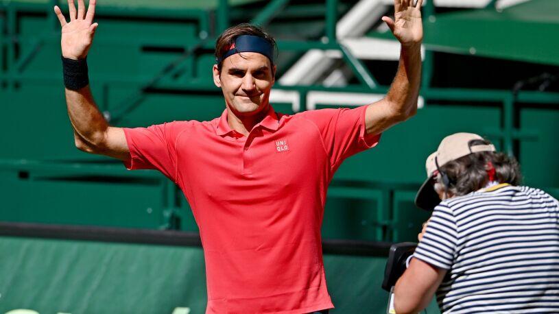 Federer wrócił na ukochaną trawę