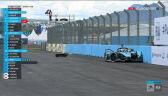Wypadek Birda w 1. wyścigu Puebla E-Prix