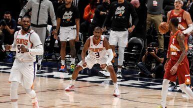 Suns w finale Konferencji Zachodniej. MVP wyrzucony z parkietu