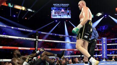 Mistrz lądował na deskach, walkę przerwano. Tyson Fury nowym królem wagi ciężkiej