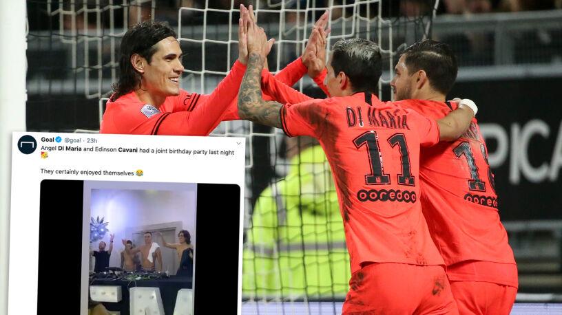 Szybko zapomnieli o porażce z Borussią. Huczna impreza urodzinowa piłkarzy PSG