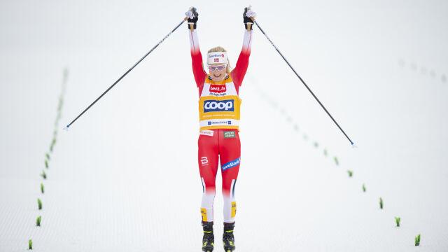 Norweski triumf w Aare. Pierwsze punkty Staręgi