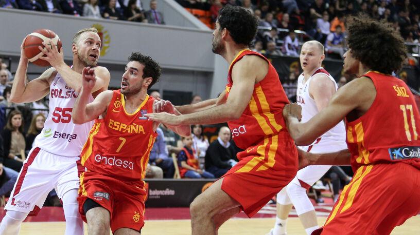 Polscy koszykarze pokonali Hiszpanów. Pierwszy raz od 48 lat