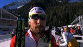 Grzegorz Guzik po sztafecie mężczyzn w mistrzostwach świata w Anterselvie