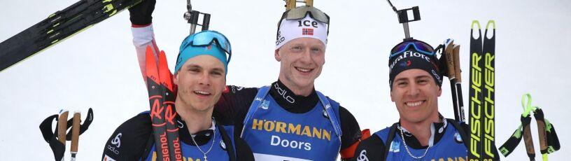Johannes Boe zdeklasował w biegu ze startu wspólnego. Drugi z braci otarł się o podium