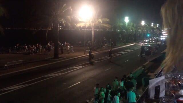 Panika na promenadzie w Nicei