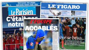 Zapłakani Francuzi.