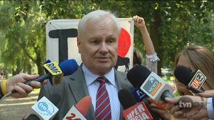 Minister środowiska popiera protest ekologów