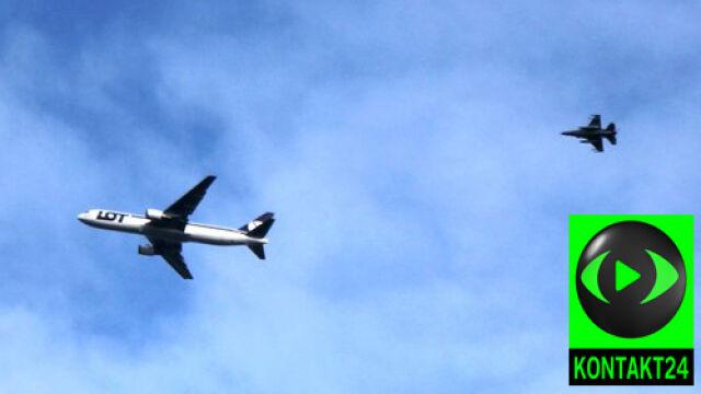 Awaria Boeinga poderwała do lotu myśliwce F-16