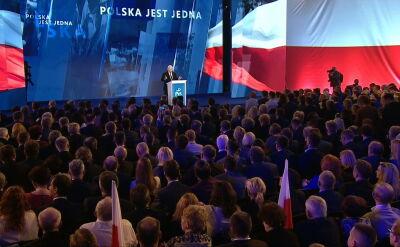 Przemówienie Kaczyńskiego podczas konwencji PiS