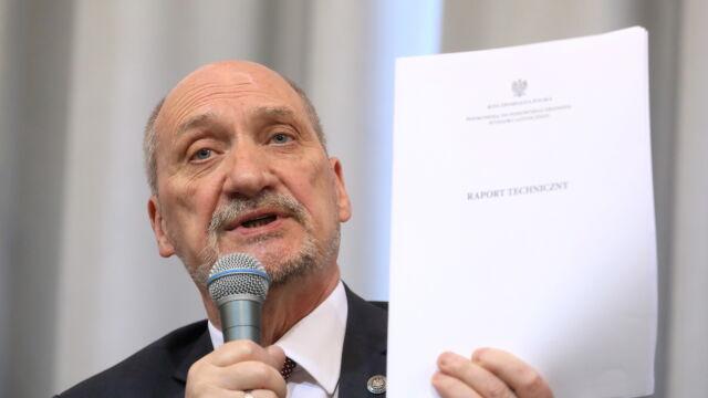 Macierewicz: na temat zamachu  się nie wypowiadałem