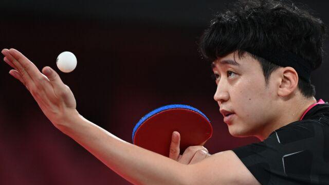 Dziennikarz wywołał burzę komentarzem o koreańskim tenisiście stołowym
