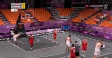 Tokio. Niesamowita końcówka doprowadziła do dogrywki w meczu Polska – Holandia w koszykówce 3x3