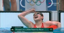 Tokio. Chinki zdobyły złoty medal i ustanowiły nowy rekord świata w sztafecie 4x200 m st. dowolnym