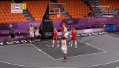 Tokio. Polska przegrała z Holandią w meczu koszykówki 3x3 mężczyzn