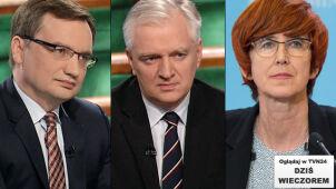 Pytania o działania rządu. Ministrowie Szydło w TVN24