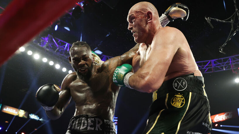 Fury i Wilder ratują wagę ciężką. Największe zainteresowanie od walki Tysona