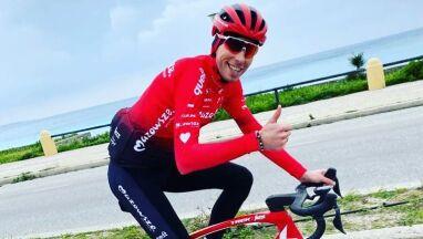 Wygrał walkę o życie, wrócił do rywalizacji. Wielki dzień polskiego kolarza
