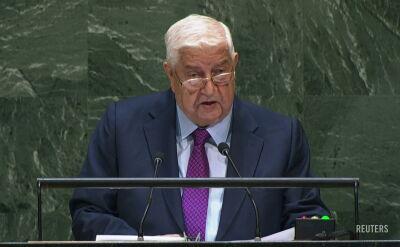 Władze Syrii domagają się wycofania z terytorium kraju sił USA i Turcji