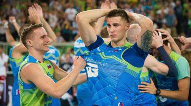 Słoweńcy zachwyceni zwycięstwem.
