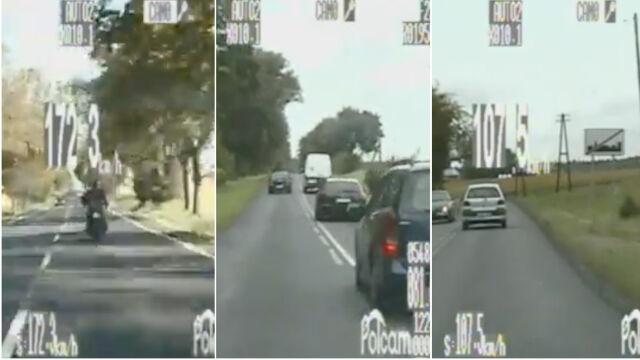Łamali przepisy, bo się spieszyli. Policjanci zatrzymali trzech kierowców