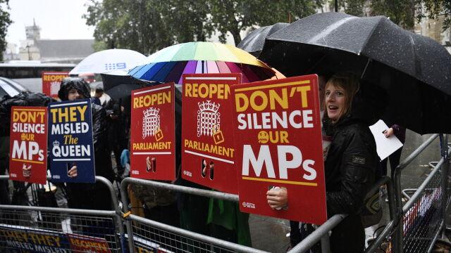 Sąd Najwyższy: decyzja Johnsona  o zawieszeniu parlamentu niezgodna z prawem