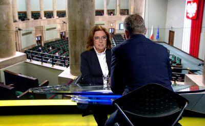 Kidawa-Błońska o sprawie Banasia: to jeden z największych skandali ostatnich lat