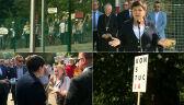 """""""Żegnaj szkoło"""", """"konstytucja"""". Premier na rozpoczęciu roku szkolnego, KOD protestuje"""
