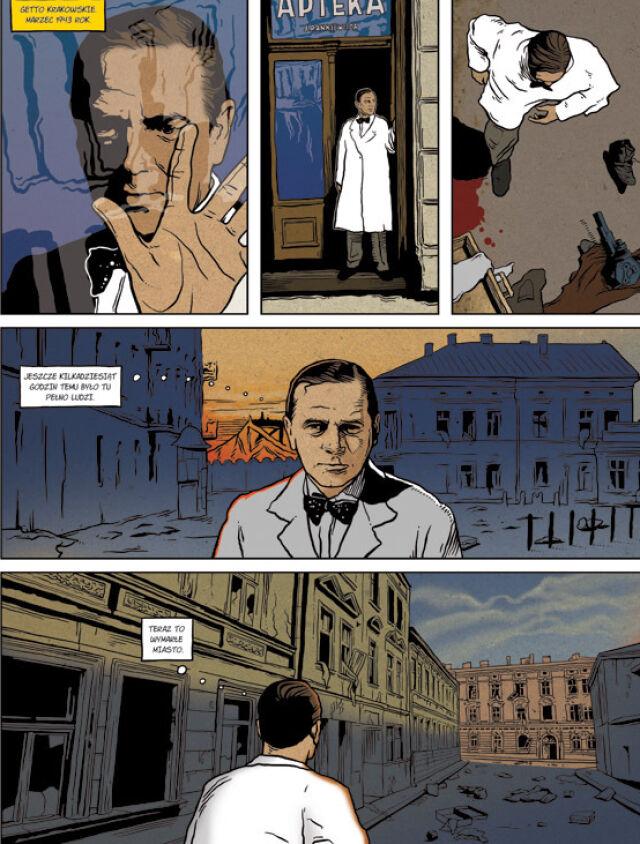 Historia krakowskiego aptekarza doczekała się komiksu