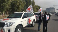 Pracownicy ICRC szykują się do wyjazdu