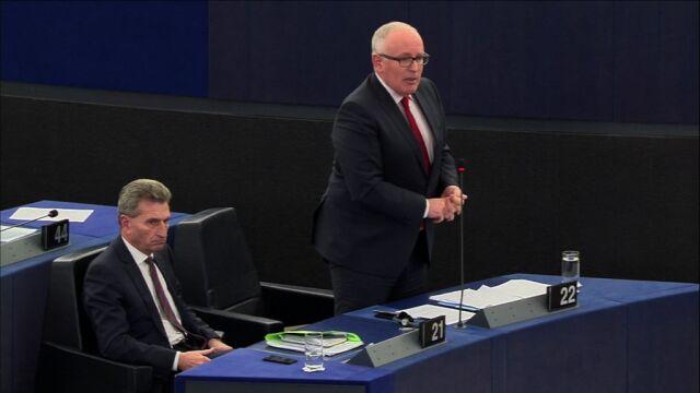 Timmermans: nasza obawa, która pozostaje, jest taka, że jego orzeczenia będą przez państwa tylko częściowo respektowane