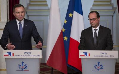 Prezydent Duda w Paryżu