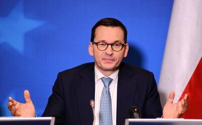 Morawiecki: nie zamierzamy wycofywać się z reformy Sądu Najwyższego