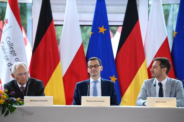 Premier spotkał się z szefem Bundestagu. Debata o przyszłości Europy