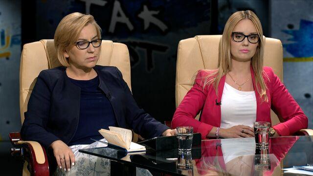 Lidia Sankowska i Paulina Hennig-Kloska w Tak Jest