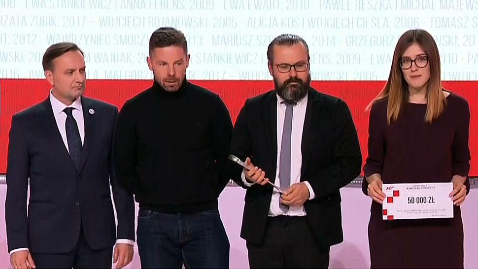 """Nagroda imienia Woyciechowskiego dla dziennikarzy """"Superwizjera"""""""