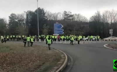 Blokady dróg we Francji