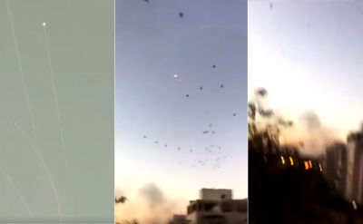 Dziesiątki rakiet wystrzelonych w stronę Izraela przez Palestyńczyków