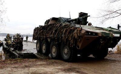Przeprawa przez zalew włocławski. Międzynarodowe ćwiczenia wojskowe