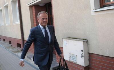 Przesłuchanie Tuska o 10 w Warszawie