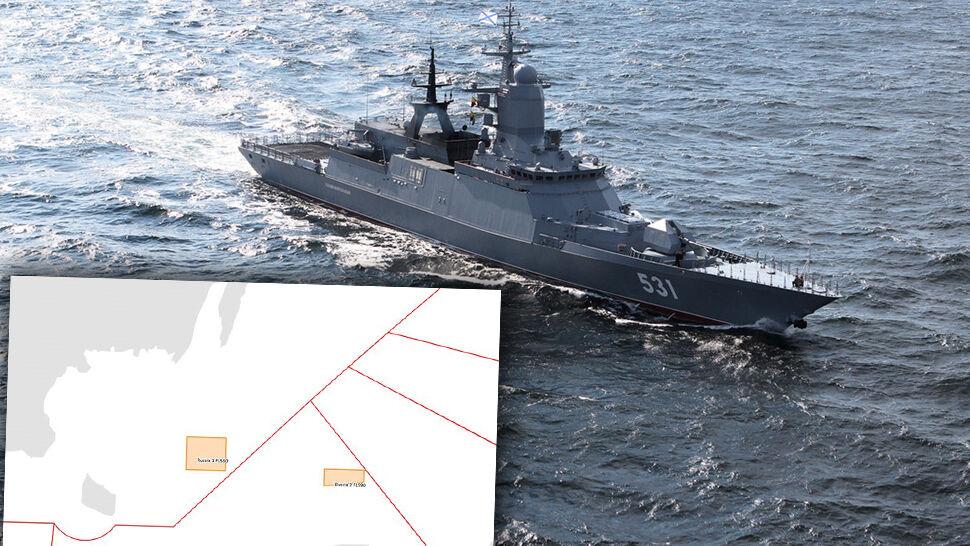 Rosjanie będą strzelać w strefie odpowiedzialności Polski nad Bałtykiem