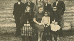 Mieszkańcy Mokrej na Podkarpaciu życzliwie przyjęli Łucję i Krystynę.